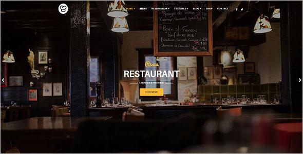 Modern Restaurant VirtueMart Theme