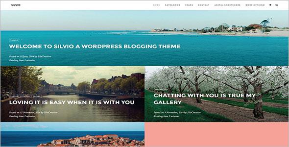 Modern Travel WordPress Theme
