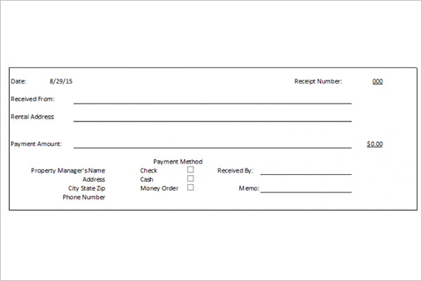 32  money receipt templates free doc  pdf  excel psd formats