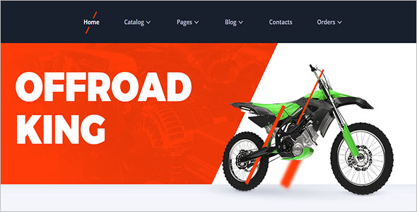 Motor Vehicles Responsive Template