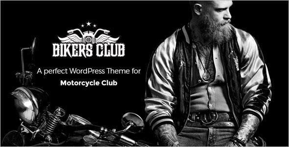 Motorcycle Responsive WordPress Template