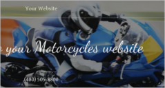 Motorcycle Website Templates