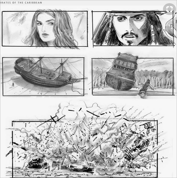 Movie Storyboard Template Word