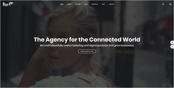 MultiPurpose Agency Bootstrap Template