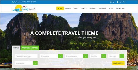Multiconcept Travel WordPress Theme