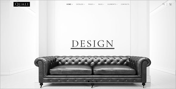 MultiPage Furniture Bootstrap Template