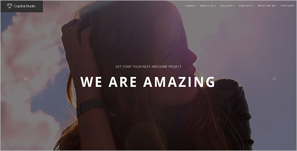 Multipage HTML Template