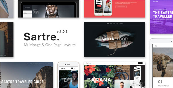 Multiple Agency Bootstrap Template