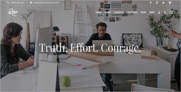 Multiple Agency WordPress Theme