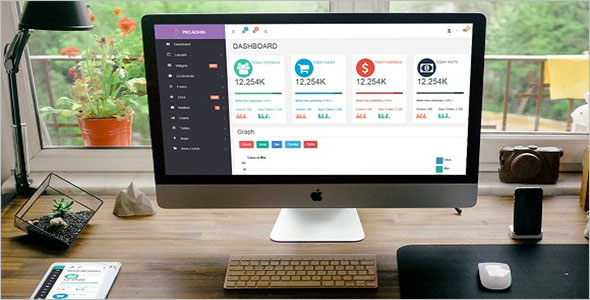 Multiple Dashboard HTML Template