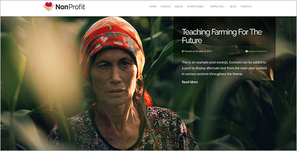 Multiple Non-Profit Bootstrap Template