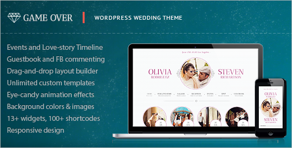 Multipurpose Event Planning Website Theme