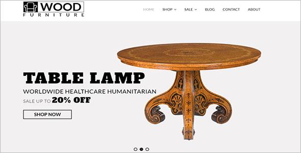 Multipurpose Furniture Bootstrap Template