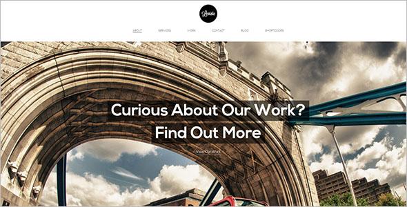 Multipurpose HTML5 WordPress Theme