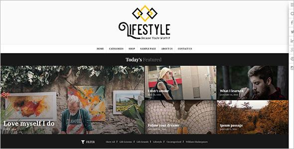 Multipurpose Lifestyle Blog Theme