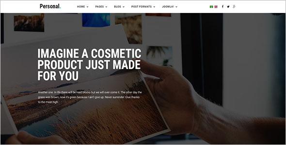 Multipurpose Personal Portfolio Joomla Template