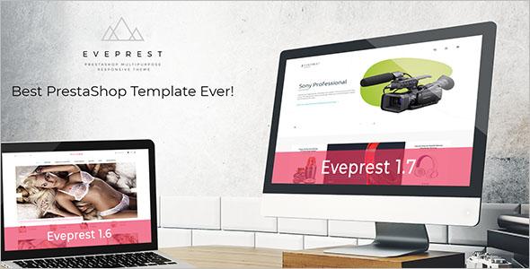 Multipurpose PrestaShop Template