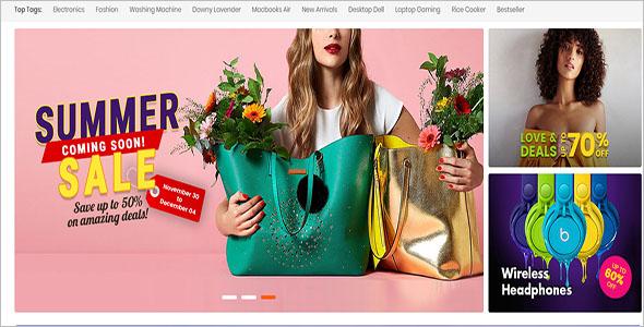 Multipurpose PrestaShop eCommerce Theme