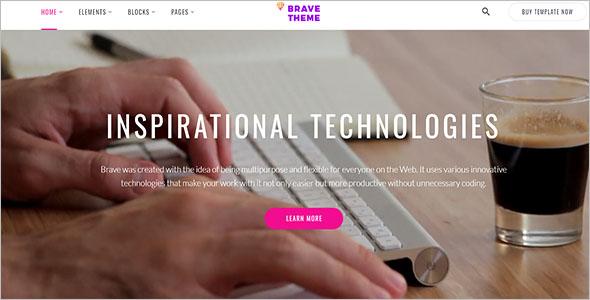 Multipurpose Social Network Bootstrap Template
