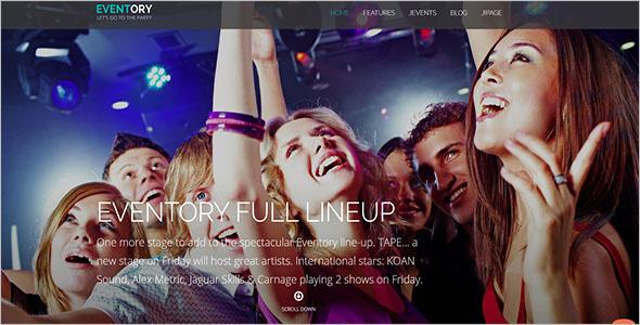 Music Party Joomla Template