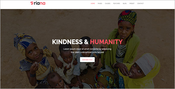 NGO Responsive Website Template
