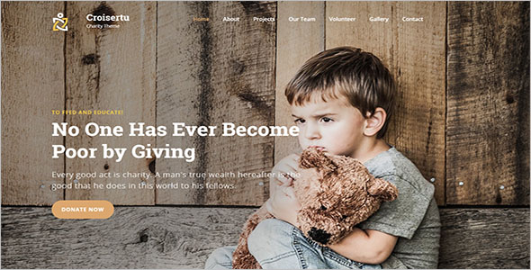 New Non-Profit Bootstrap Template
