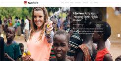 Non Profit Awareness Blog Theme