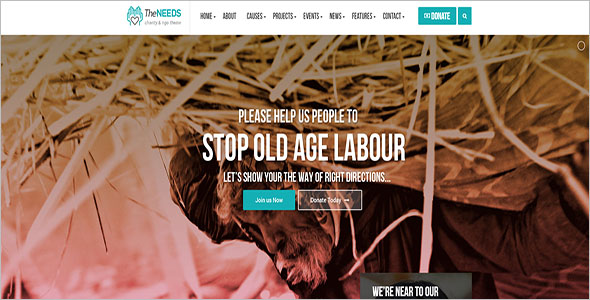 Non Profit Blog Theme
