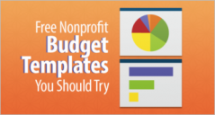 Free Non Profit Budget Templates