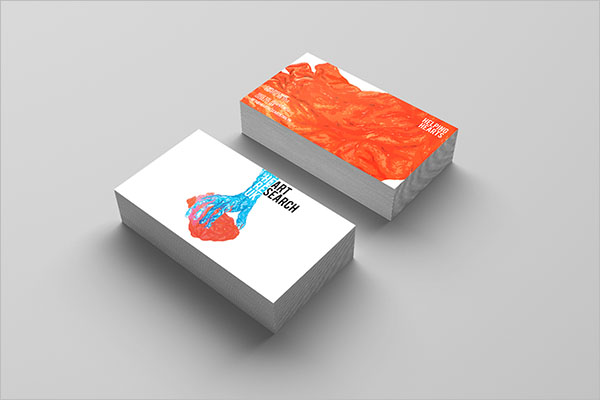 Non Profit Business Card Design