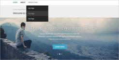 Non-Profit Cheap Blog Template