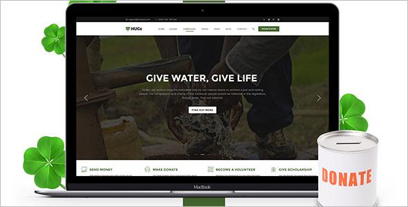 Non-Profit Donation Camp Blog Theme