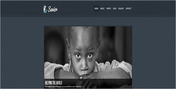 Non Profit Helping Hands Blog Theme