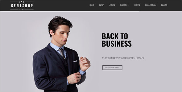 Official Fashion Magento Theme