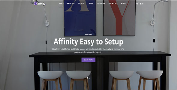 Official Furniture Blog Theme