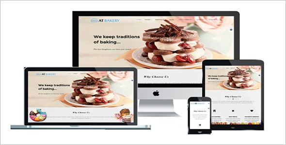 One Page Bakery Joomla Template