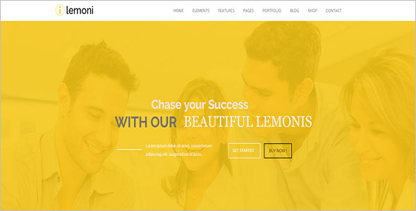 One Page Business Drupal 8 Theme