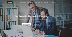 One Page Corporate Drupal Theme