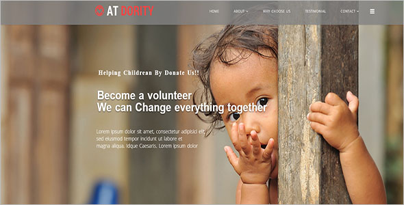 One Page Kids Joomla Template