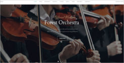 One Page Music Joomla Template