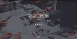 One Page WordPress Theme For HTML