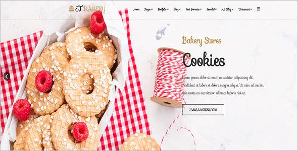 Online Bakery Joomla Template