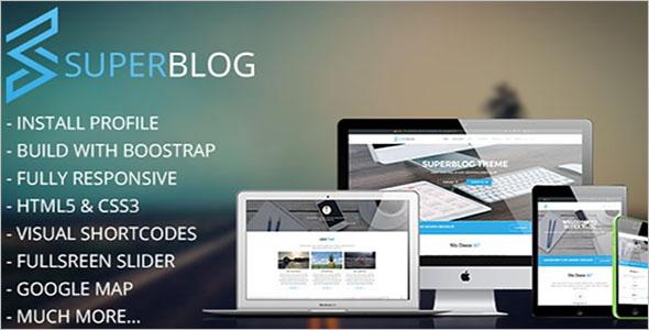 Online Blog Drupal Theme