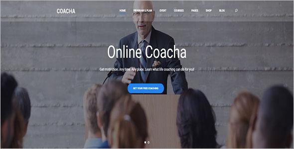 Online Coaching WordPress Theme