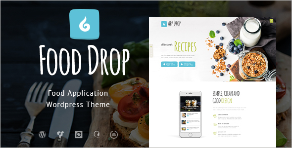 Online Food Delivery Website Template