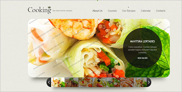 Online Food Ordering Website Template