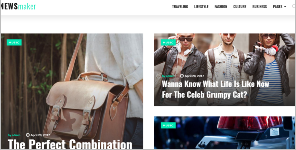 Online News Website Theme