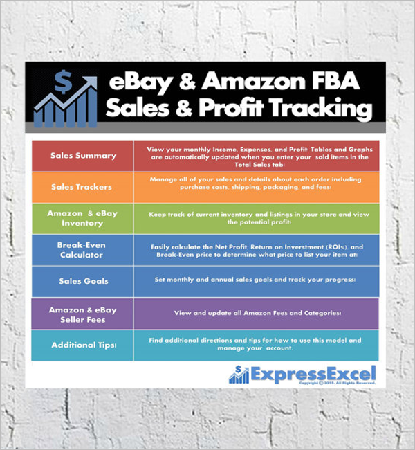 Online Sales Tracking Template