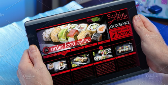 Order Food Online Website Template