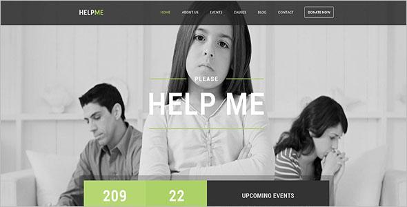 Orphans Charity Blog Theme